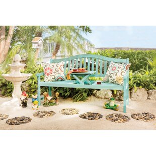 Namboodri Wooden Bench By Sol 72 Outdoor