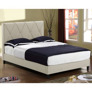 Alberto Queen Upholstered Platform Bed