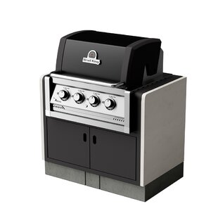 Moseley 4-Burner Built-In Liquid Propane Barbecue Grill By Sol 72 Outdoor