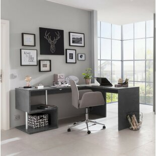 Mbolu L-Shape Executive Desk By Wade Logan