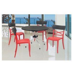 Ebern Designs Kirton Commercial Grade 5 Piece Dining Set