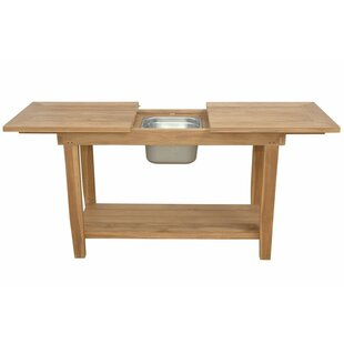 Nautilus Extendable Wooden Console Table