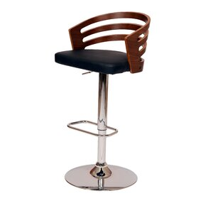 Hancock Adjustable Height Swivel Bar Stool