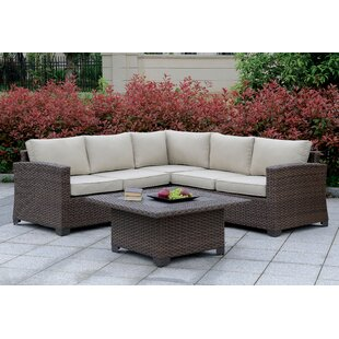 Hammons 4 Piece Sectional Seating Group