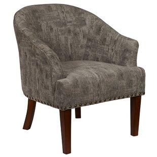 Gracie Oaks Cedarville Mid Century Barrel Chair