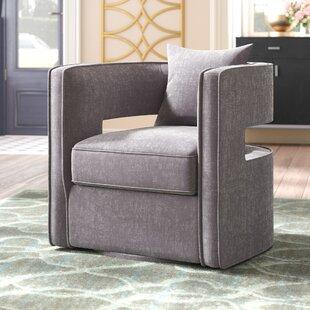 Rayners Swivel Barrel Chair by Mercer41