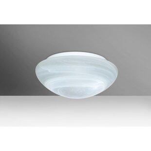 Buy luxury Bobbi 1-Light Outdoor Flush Mount By Besa Lighting
