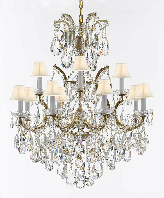 Astoria Grand Alvarado 13 Light Shaded Tiered Chandelier Wayfair