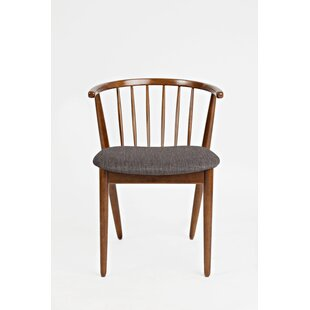 Union Rustic Holzman Solid Wood Dining Chair (Set of 2)