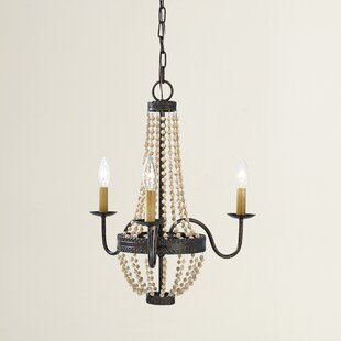 House of Hampton Sudbury 3-Light Empire Chandelier