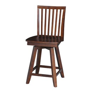 Bowdoin 24 Swivel Bar Stool DarHome Co