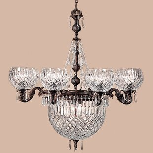 Classic Lighting Waterbury 12-Light Shaded Chandelier