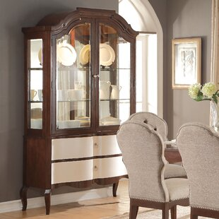 Darby Home Co Daxten Lighted China Cabinet