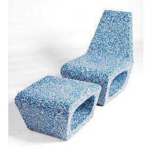 Jahn 2 Piece Ecopixel Chair Set