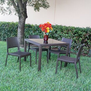 Kesler Modern 5 Piece Dining Set