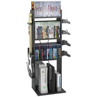 Rebrilliant Game Central Multimedia Storage Rack