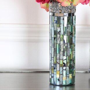 Croce Lit Mosaic Table vase