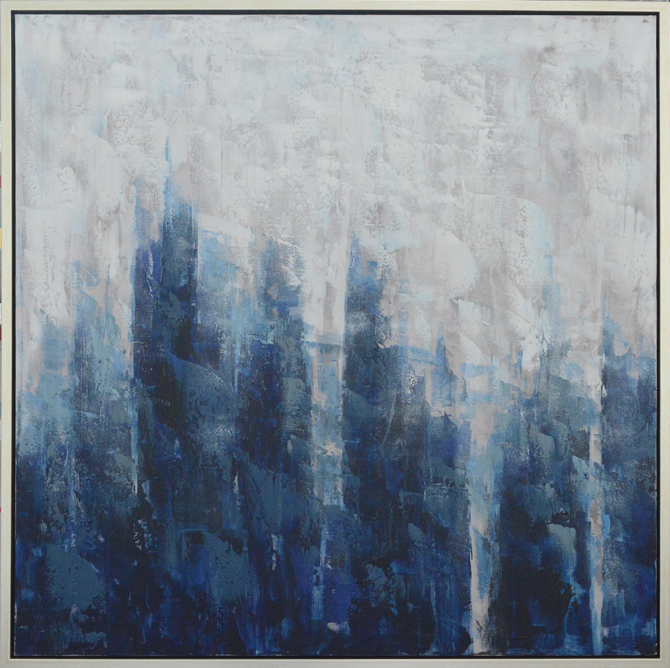 Mercer41 Hanging Framed Oil Painting Print On Canvas Reviews Wayfair