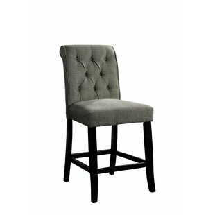 Rushville Fabric Upholstered Dining Chair (Set of 2) by Ophelia & Co.