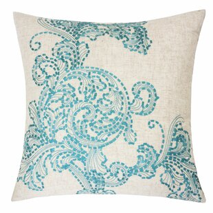 Amesbury Embroidered Throw Pillow