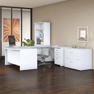 Bush Business Furniture Studio C U Shaped Desk Office Suite
