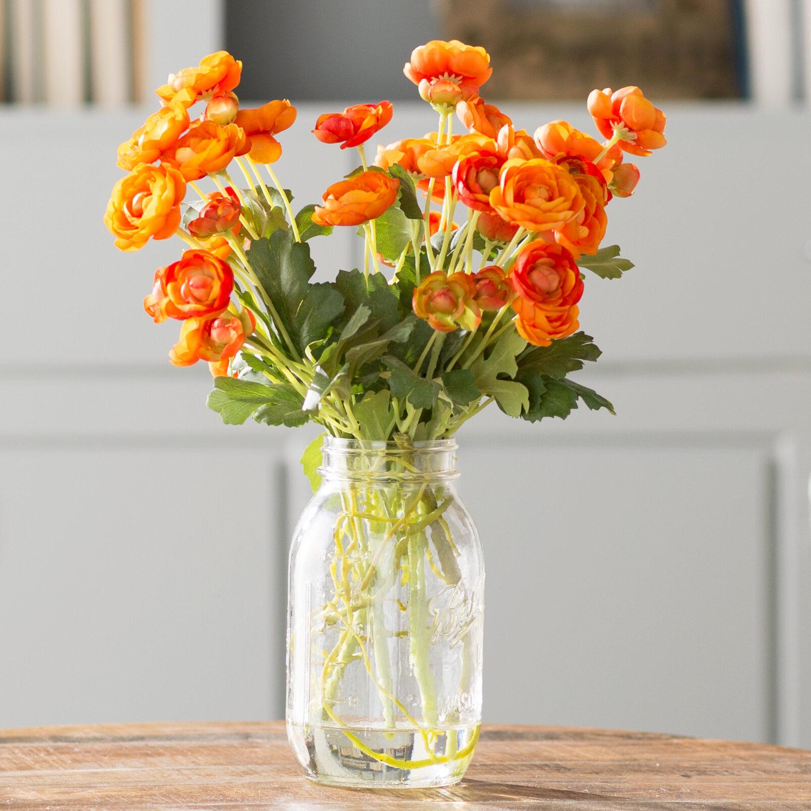 Ranunculus Flower Arrangements You Ll Love In 2021 Wayfair Ca