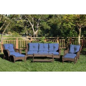 Wicker Furniture Youll Love Wayfair - Outdoor patio wicker furniture