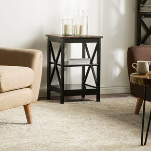 Glenys End Table by Gracie Oaks