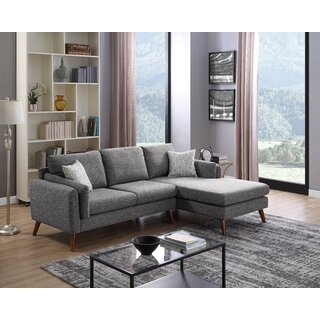 Ahmed Right Facing Stationary Sectional by Wrought Studio SKU:DC677262 Guide
