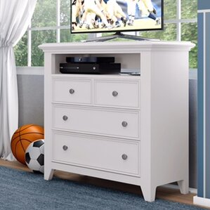 Inwood Media 3 Drawer Chest by Harriet Bee