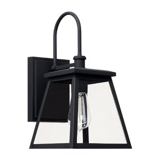 Best Reviews Upsala Outdoor Wall Lantern By Gracie Oaks