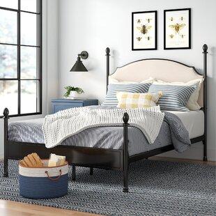 Granite Range Upholstered Canopy Bed