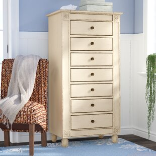 Beachcrest Home Waverley 7 Drawer Lingerie C..