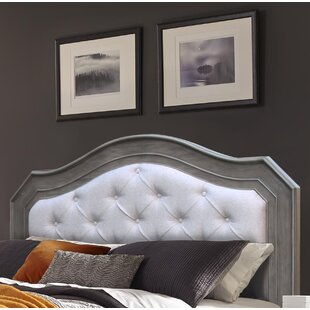 Block Upholstered Panel Headboard By House of Hampton