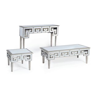 Emerald Home Furnishings Heritage 3 Piece Coffee Table Set