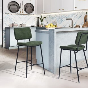 Dickerson 27.2 Bar Stool (Set of 2) by Wrought Studio