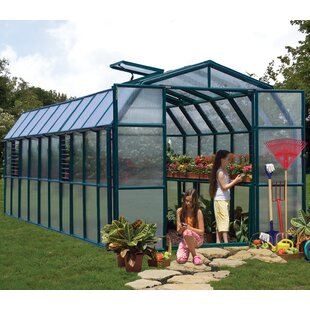 Rion Greenhouses Grand Gardener 2 Twin Wall 8 Ft. W x 20 Ft. D Greenhouse