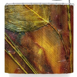 Malia Shields Life Abstracts Series 2 Single Shower Curtain by East Urban Home Coupon