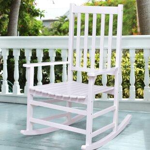 Gaetane Solid Wood Rocking Chair