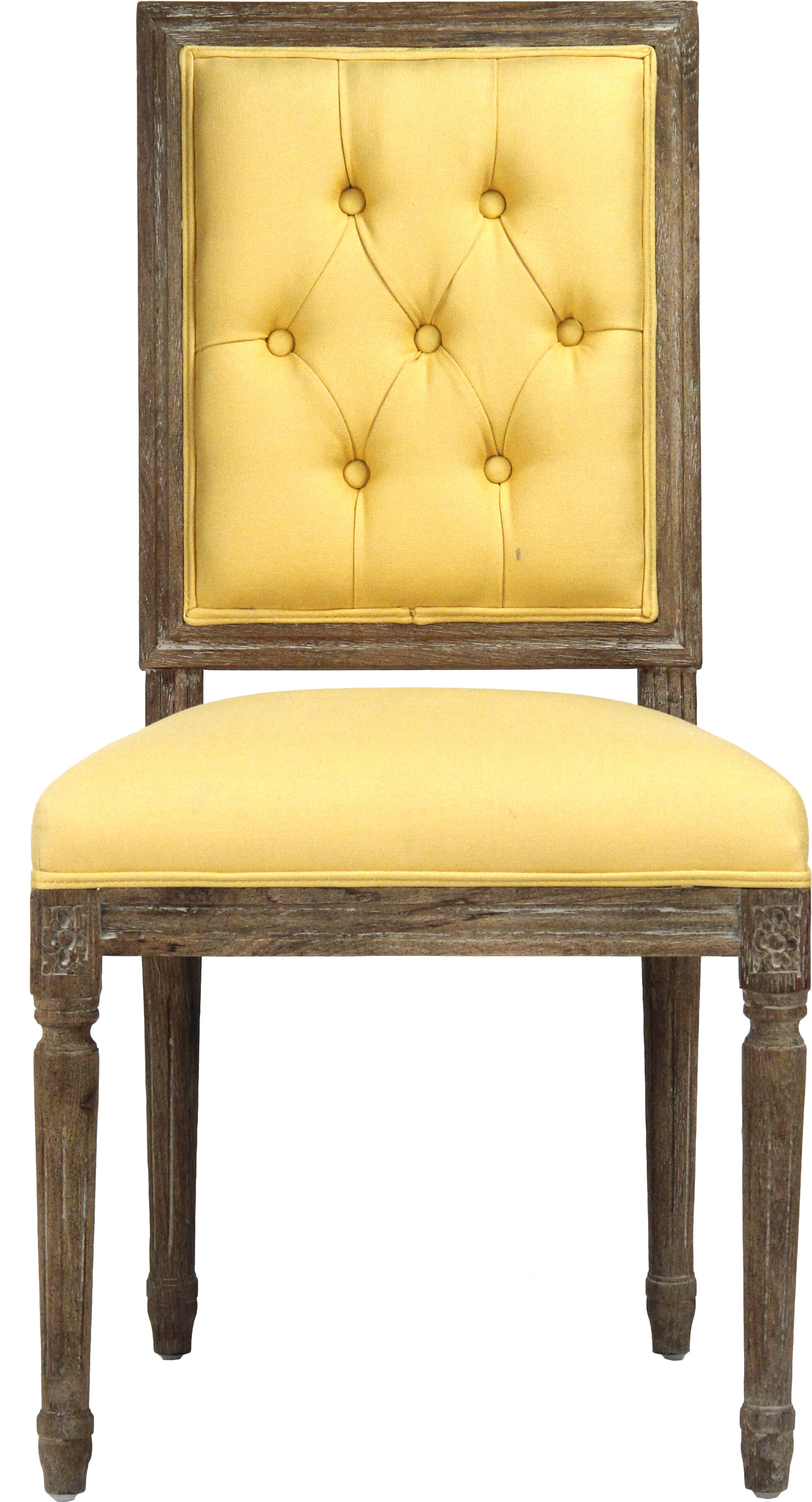Zentique Louis Upholstered Dining Chair