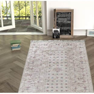 Enciso Beige Indoor/Outdoor Area Rug