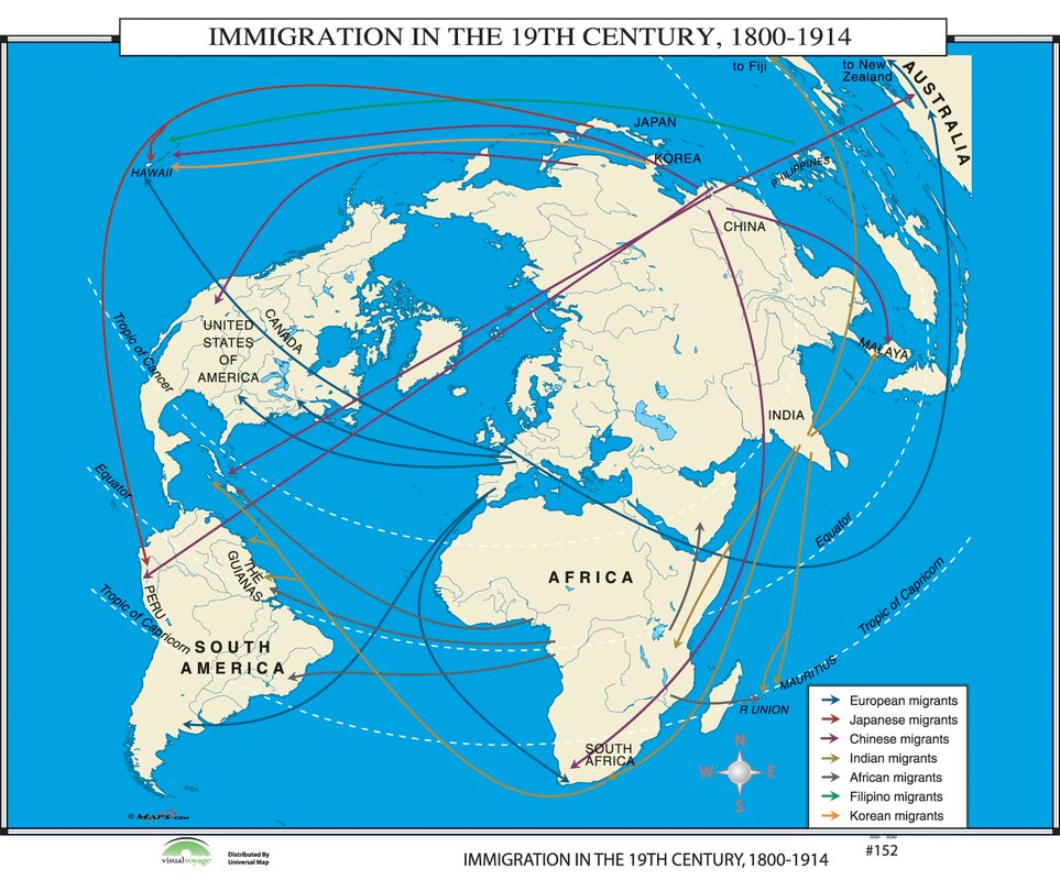 Historical maps of europe 19th century free usa maps universal map world history wall maps immigration in 19th century rhwayfair historical maps of europe gumiabroncs Gallery