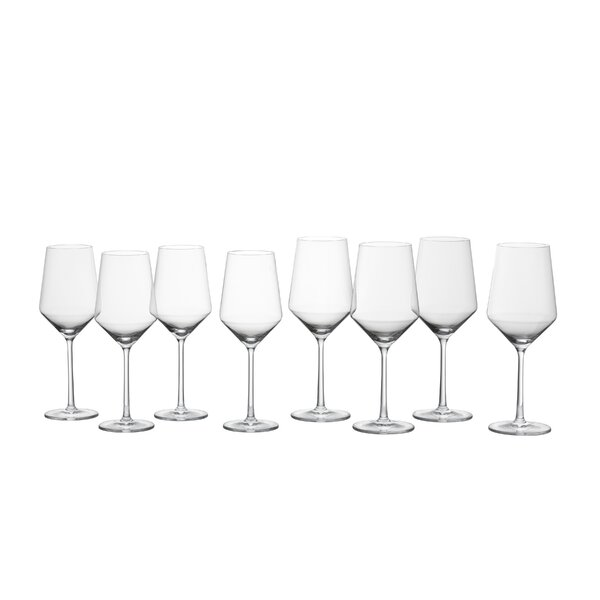 Modern Contemporary Crystal Wine Glasses Set Allmodern