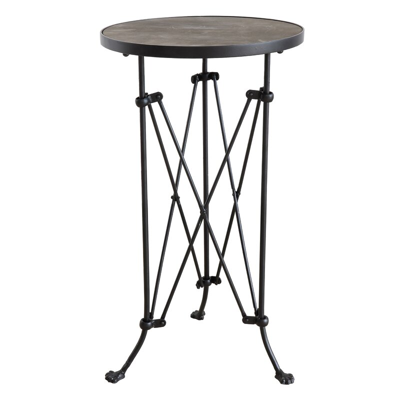 Abequas Metal End Table