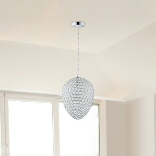 Wrought Studio Brielle 1-Light Crystal Pendant