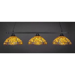 Angelos 3-Light Billiard Island Pendant by Red Barrel Studio