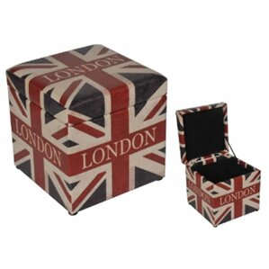 London British Flag Ottoman by Northlight Se..