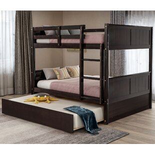 Sandoval Full Over Full Bunk Bed with Trundle