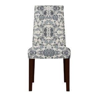 Haddonfield Gray/Beige Side Chair (Set of 2) by Latitude Run