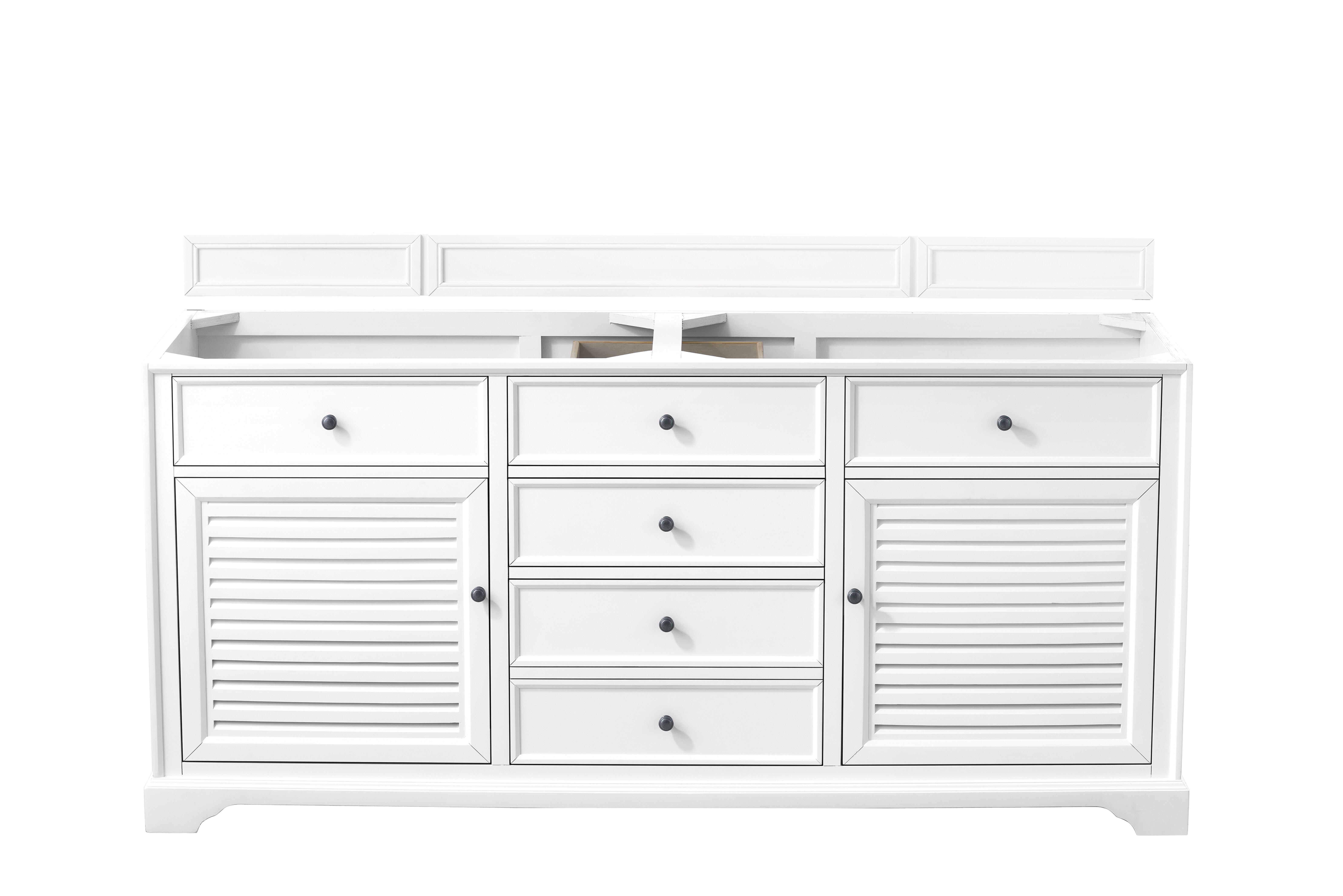 James Martin Furniture 71 5 Double Bathroom Vanity Base Only Wayfair